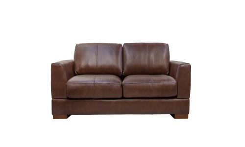 Mocha 2s milano leather sofa 2322   web