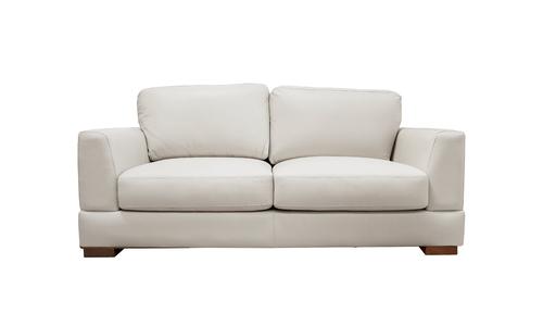Cream 3s milano leather sofa 2322   web
