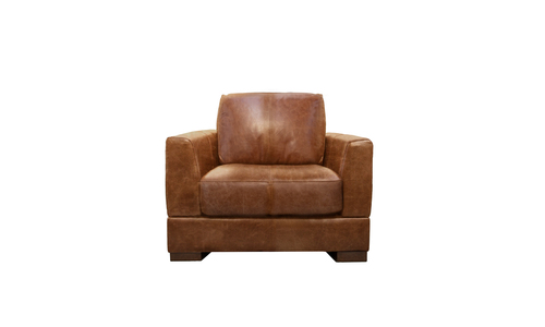 Pecan 1s milano leather sofa 2322   web