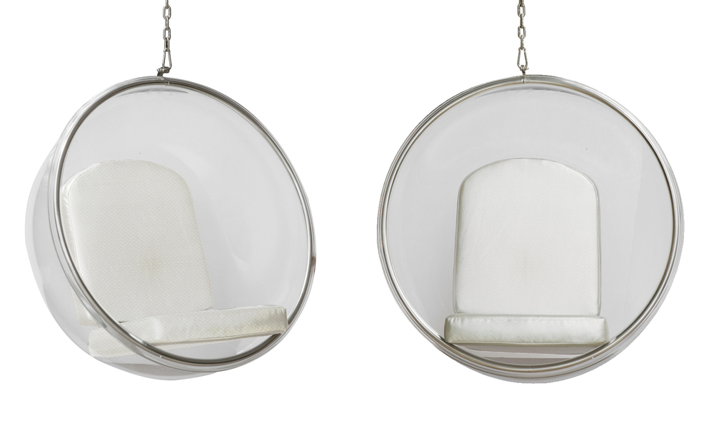 replica hanging bubble chair retreat in timeless style