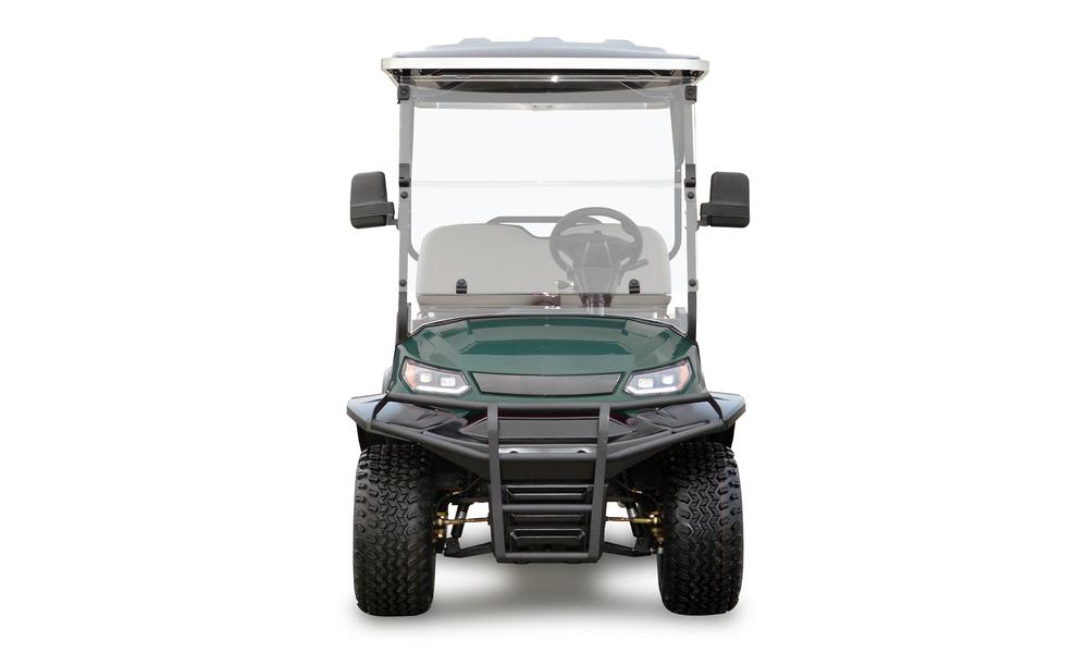 Metallic green 4 seaters golf cart 2739  2740   web4