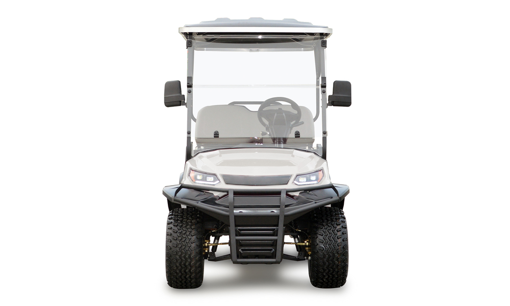 Beige 4 seaters golf cart 2739  2740   web4
