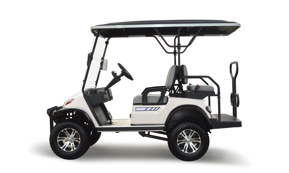 Beige 4 seaters golf cart 2739  2740   web2