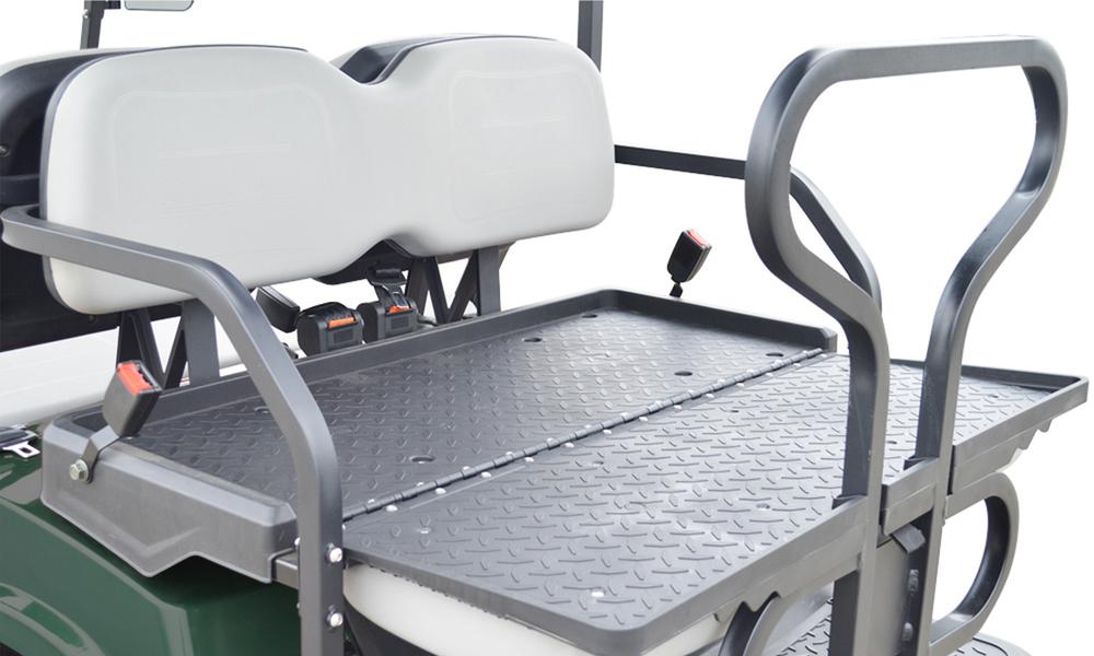 Metallic green 4 seaters golf cart 2739  2740   web6