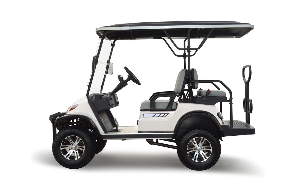 Beige 4 seaters golf cart 2739  2740   web2