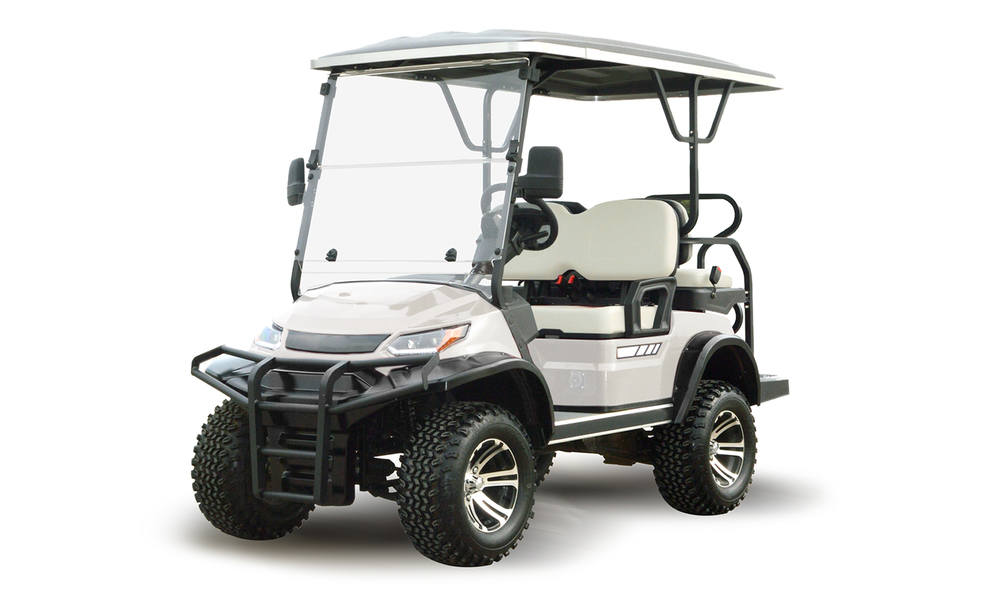 Beige 4 seaters golf cart 2739  2740   web1