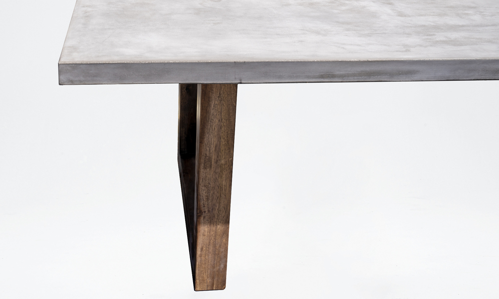 Genk concrete dining table 2647   web3
