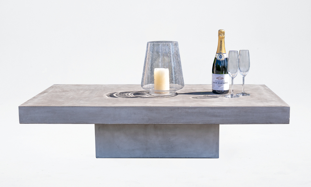 Venus rectangular concrete table 2650   web3