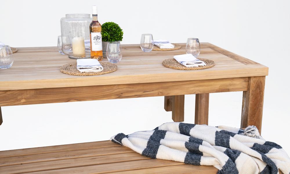 Kalmar teak dining table 2569   web2