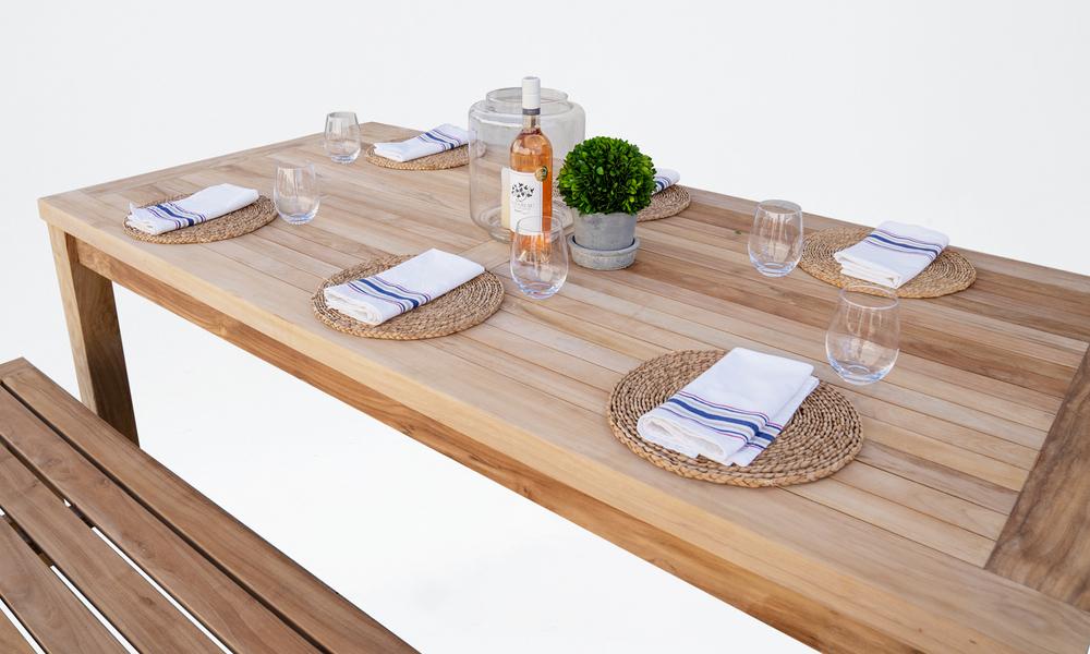 Kalmar teak dining table 2569   web5