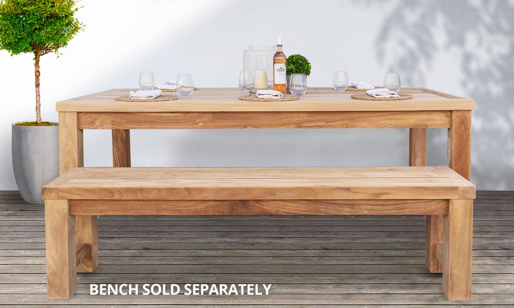 Kalmar teak dining table lifestyle 2569   web1