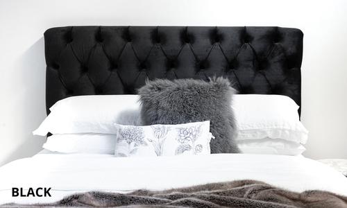 New black   kingston velvet tufted headboard   web1