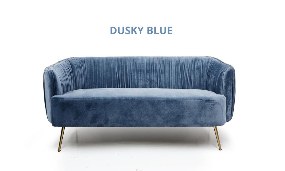 Dusky blue   arthur velvet 2 seater sofa 2345   web