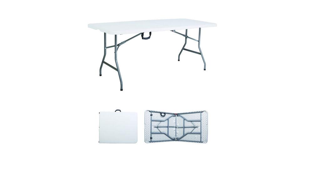 593   6 foot folding table