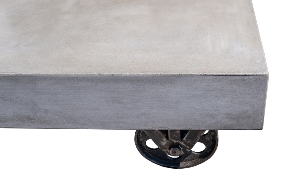 Bristol concrete coffee table on rollers 2645   web4
