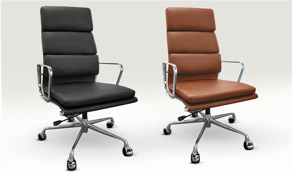 Replica high back padded office chair 2799   web1