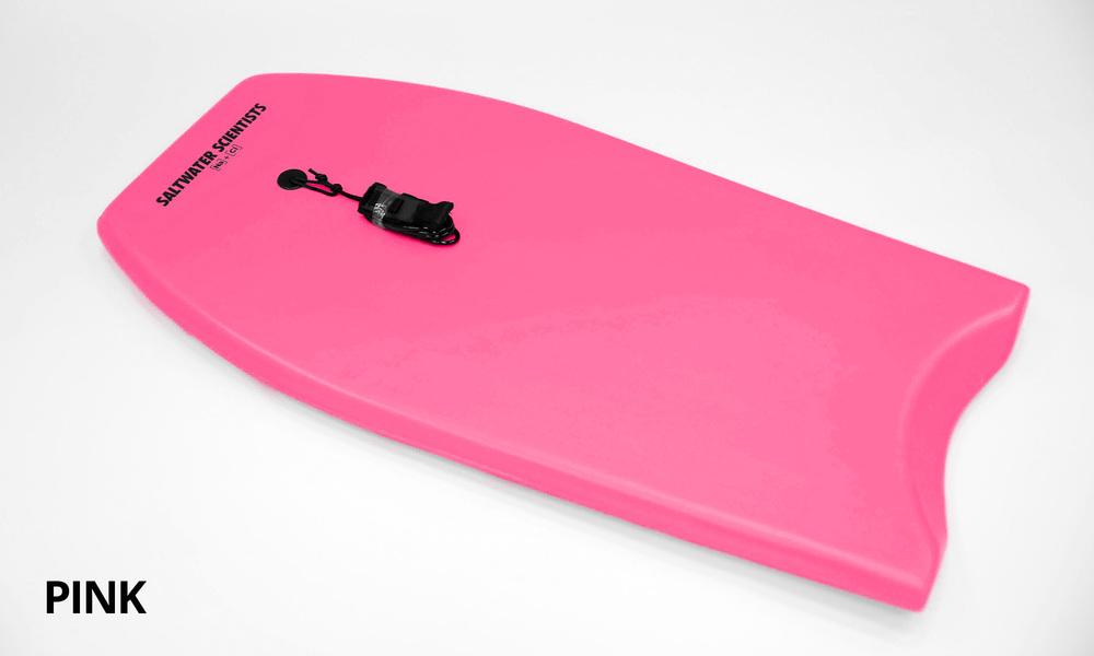 Pink   saltwater scientists body board plain   web1