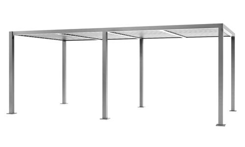 6x3 matte grey   aluminium pergola 2356   web1