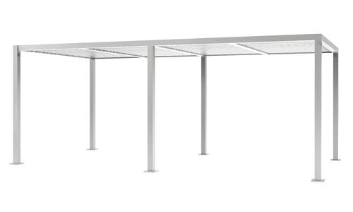 6x3 matte white   aluminium pergola 2356   web1