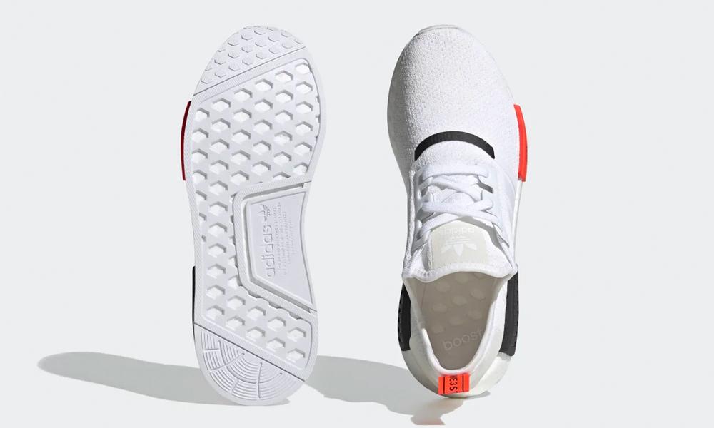 Cloud white red adidas mens 2681   web2