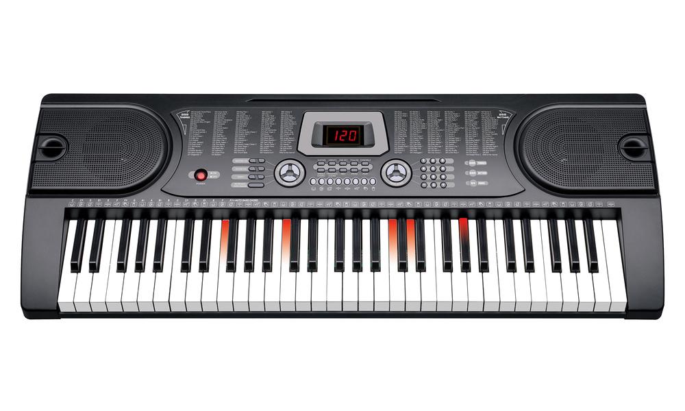 61 keys led electronic piano keyboard set 2857   web2