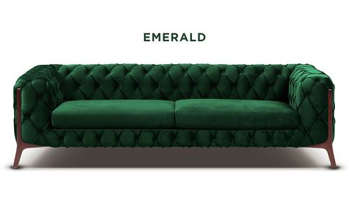 New emerald   diablo velvet button 3 seater sofa   web
