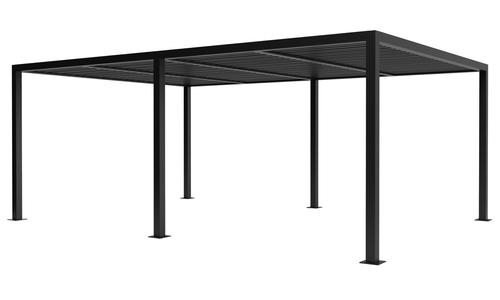 6x4 dark charcoal   aluminium pergola 2358   web1