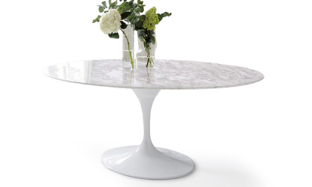 Replica eero saarinen marble oval tulip table 2861   web3