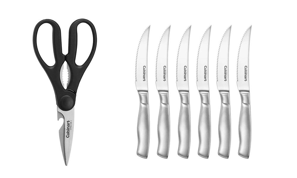 Cuisinart 15pc stainless steel hollow handle cutlery block set 2876   web3