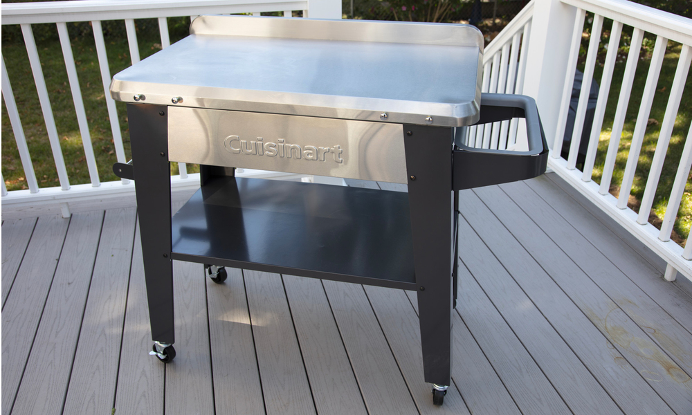 Cuisinart stainless steel outdoor prep table 2879   web3