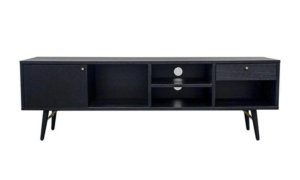 Luxe entertainment tv unit 1.5m black 2892   web1