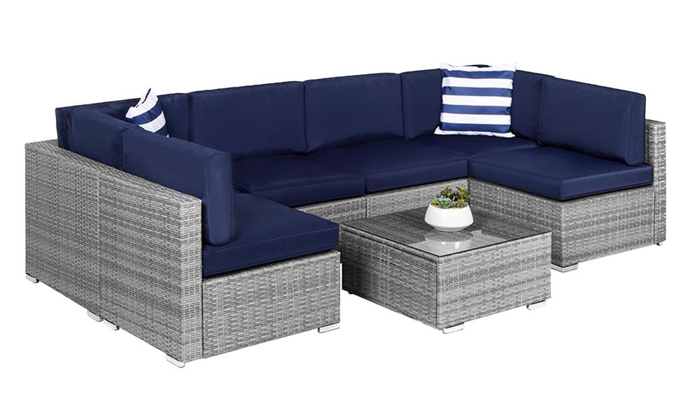 New port 7pcs wicker sofa set 2948   web2