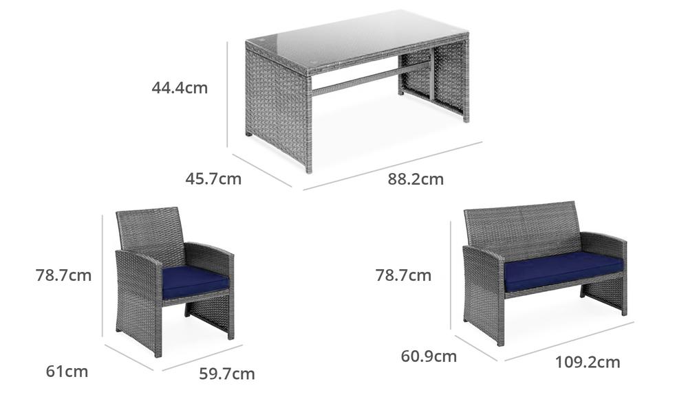 New port 4pcs wicker sofa set 2949   web2