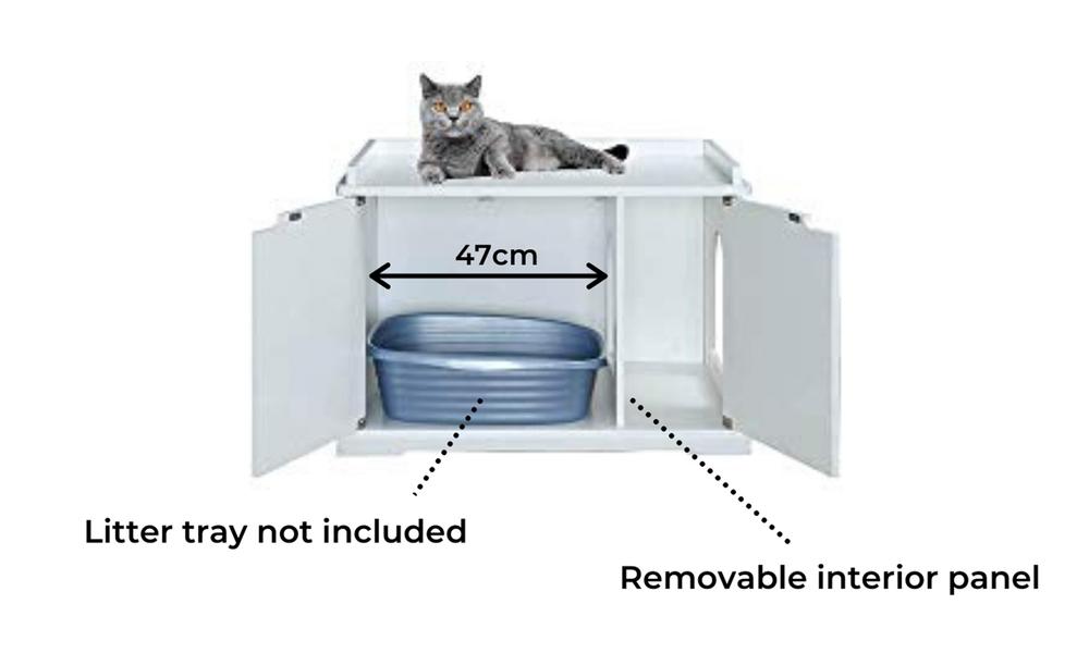 Modern pets cleo cat litter cabinet 2933   web3