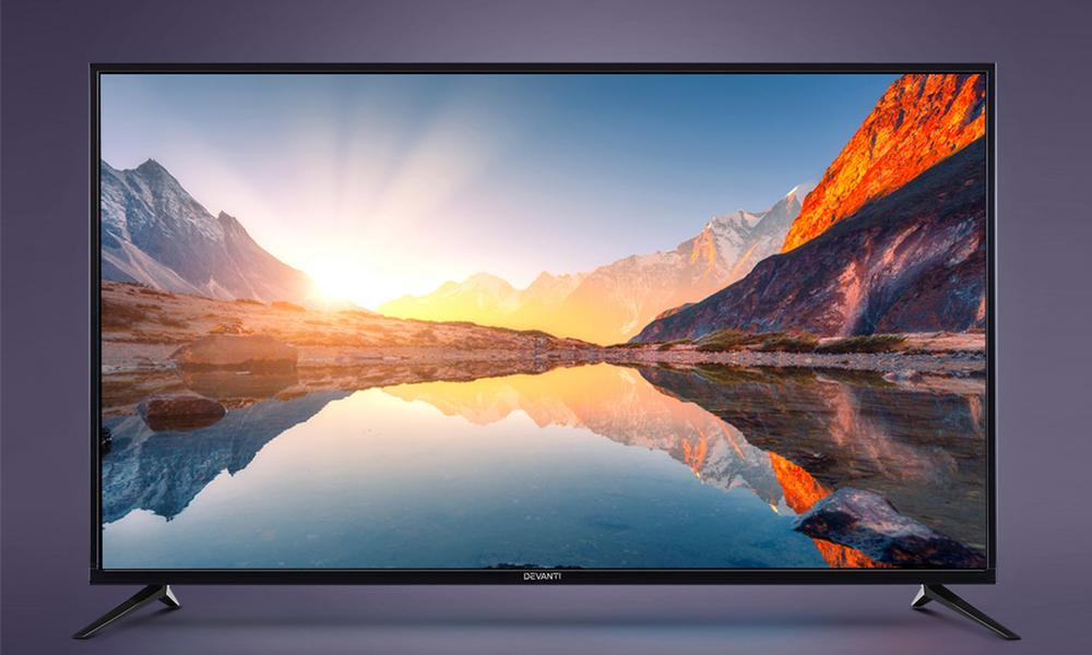 Devanti 55  thin screen smart tv 2954   web1