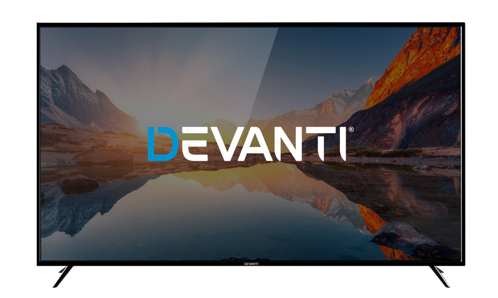 Devanti led tv smart tv 75 inch lcd 4k uhd hdr 75television 2963   web1