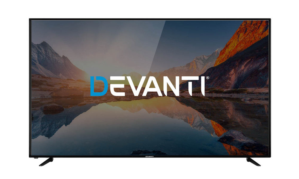 Devanti led smart tv 65 inch 4k uhd lcd tv television netflix 2964   web1