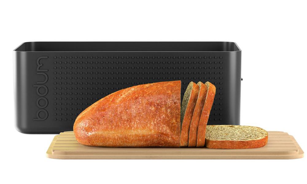 Black bodum bistro bread box 2449   web2