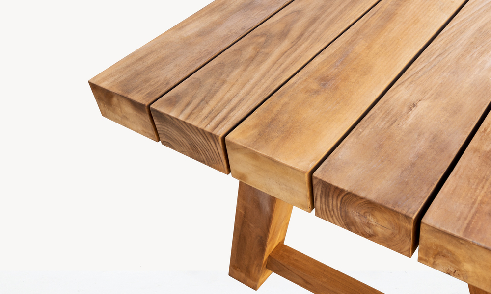 Mackinder teak dining table 2675   web4