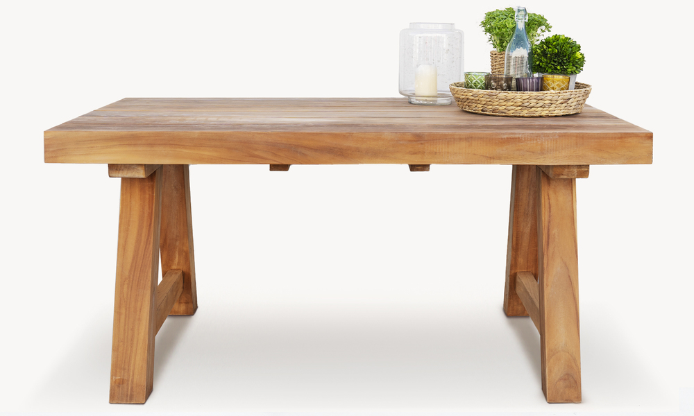 Mackinder teak dining table 2675   web1
