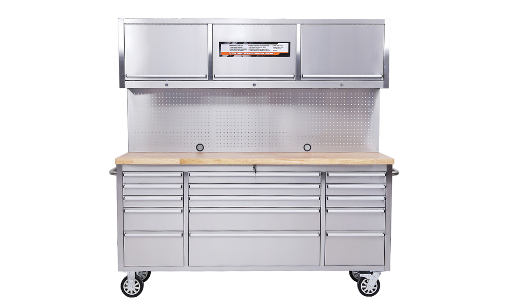 Tool box chest tool on rollers stainless steel 2960   web1