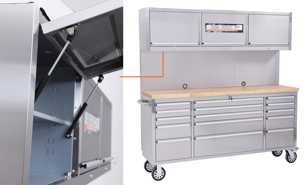 Tool box chest tool on rollers stainless steel 2960   web3