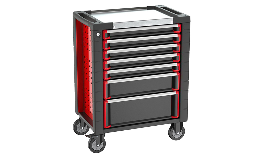 7 drawer tool trolley with 278 pcs tool set 2994   web1