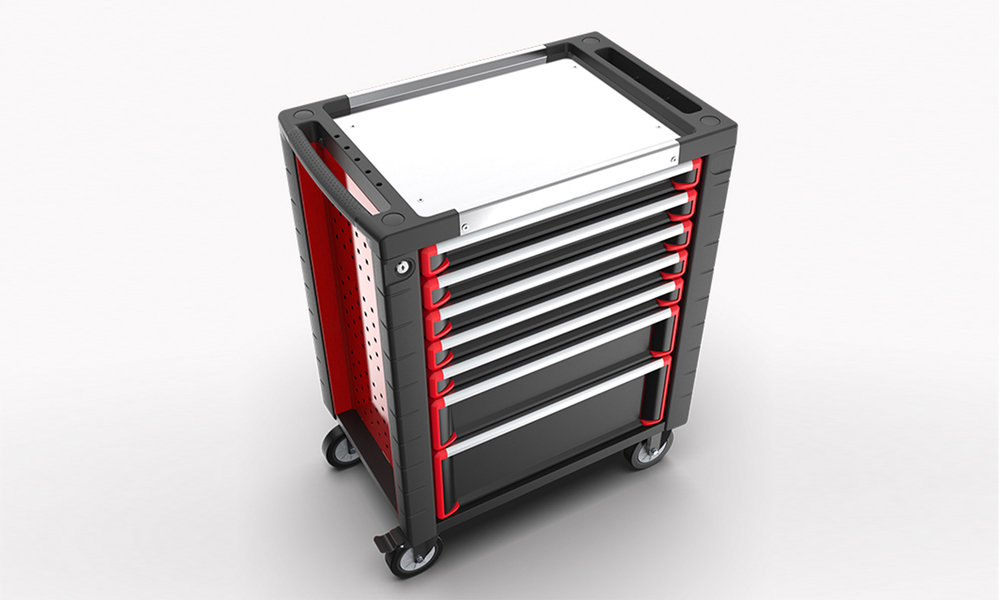 7 drawer tool trolley with 278 pcs tool set 2994   web2