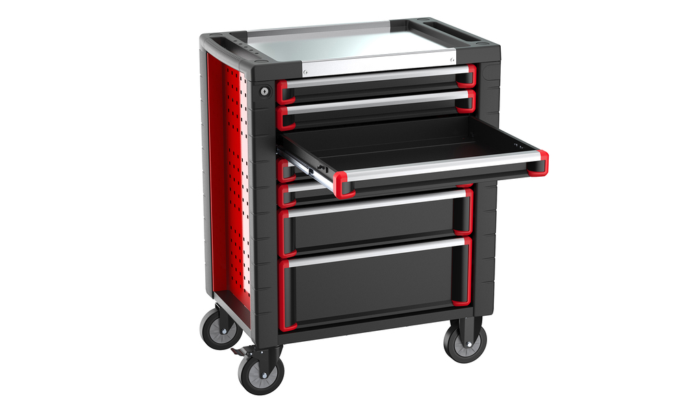 7 drawer tool trolley with 278 pcs tool set 2994   web3