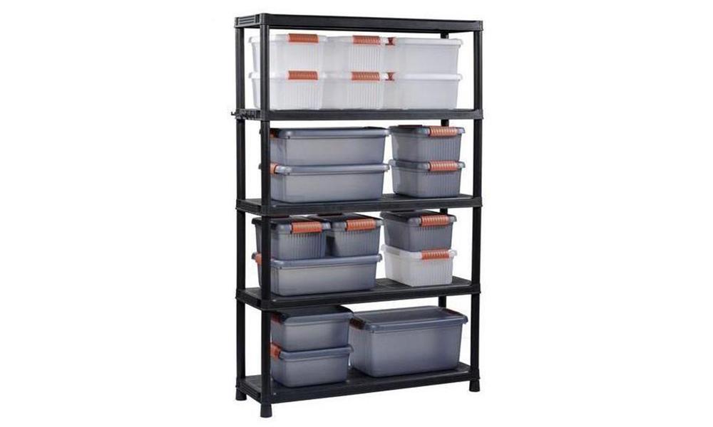 Keter plus garage shelving 120 5   2995   web1
