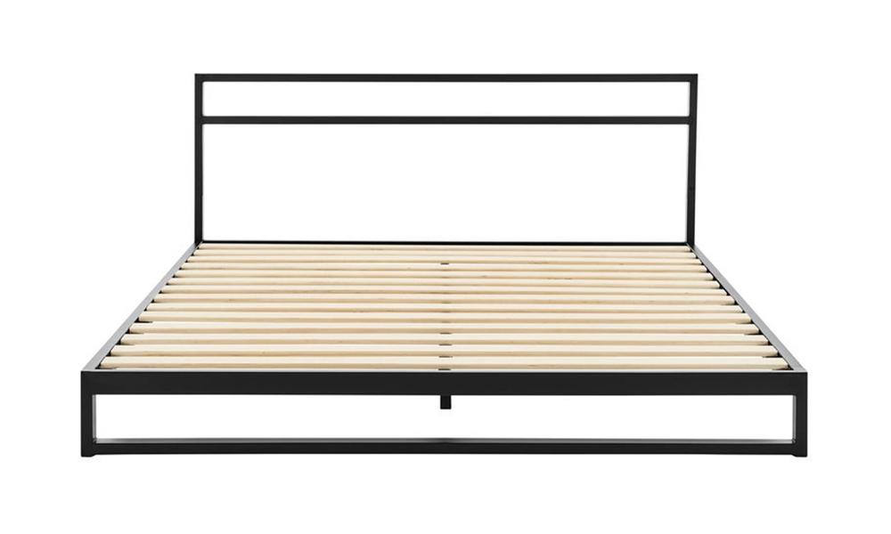 Austin modern metal bed frame with headboard 3010   web3