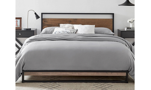 Boston bed frame with headboard 3009   web1