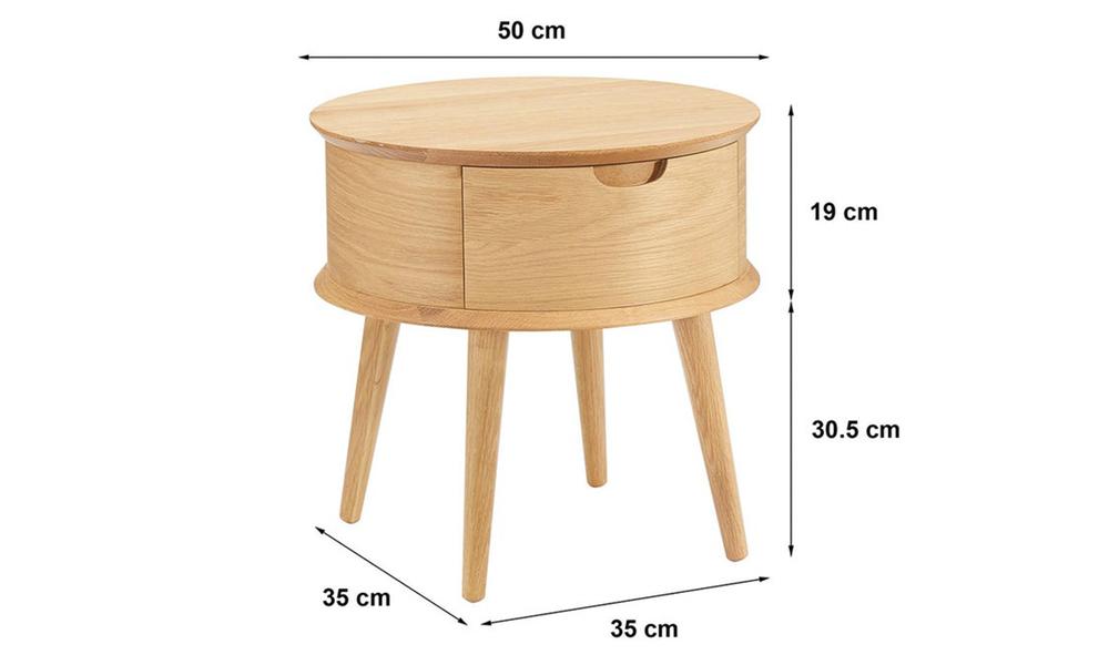 Mia oak curved bedside table 3021   web3