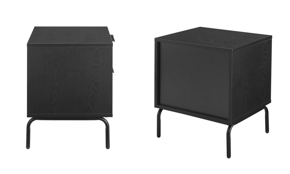 Nala modern bedside table   2 drawer 3023   web3